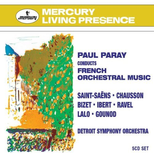 Paul Paray Paray Conducts French Orchestr 5 CD Set Paray Detroit So
