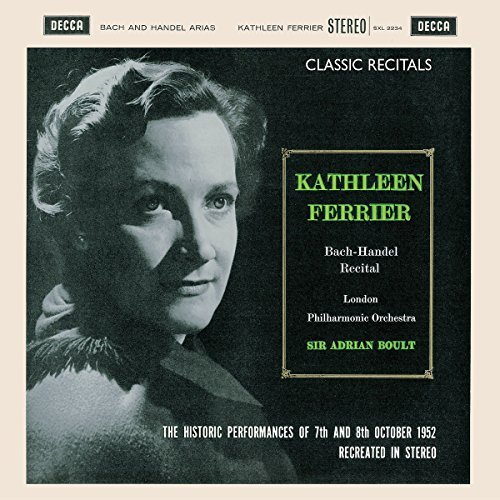 Kathleen Ferrier Classic Recitals Boult London Po