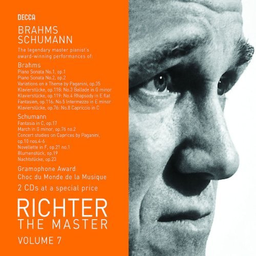 Brahms Schumann Master Vol. 7 Richter (pno) 2 CD Set