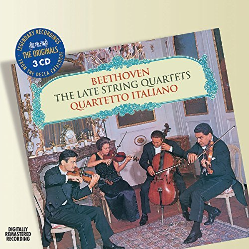 Ludwig Van Beethoven Late String Quartets 3 CD Quartetto Italiano