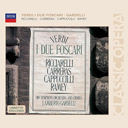 Giuseppe Verdi I Due Foscari 2 CD Gardelli Orf So & Chorus