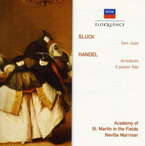 Marriner Academy Of St Martin Gluck Don Juan Handel Arioda Import Aus