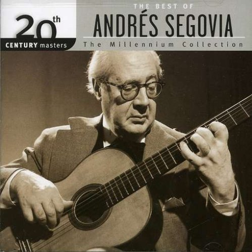 Andres Segovia Millennium Collection 20th Cen Segovia (gtr)