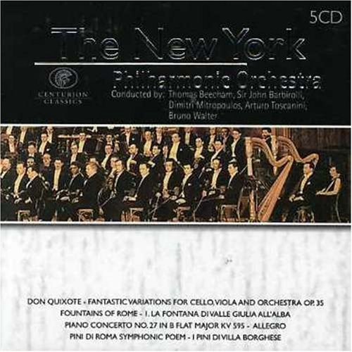 New York Philharmonic Orchestr New York Philharmonic Orchestr Import Gbr 5 CD Set