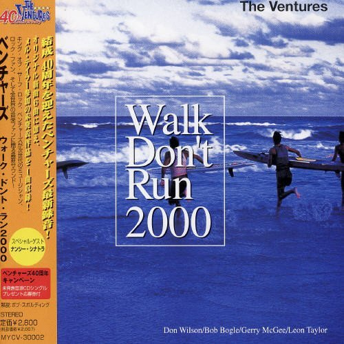 Ventures Walk Don't Run 2000 Import Jpn