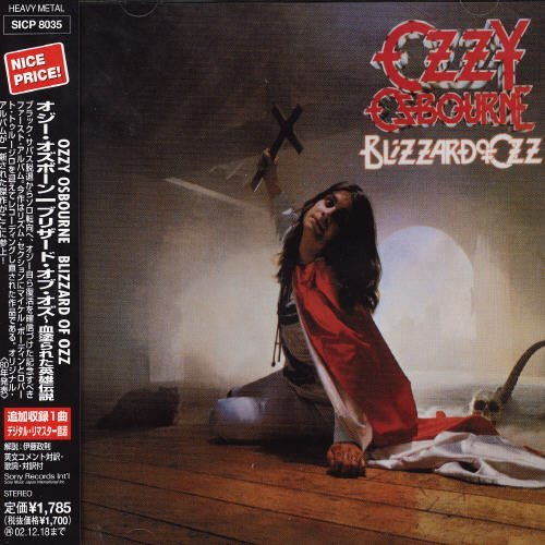 Ozzy Osbourne Blizzard Of Oz Import Jpn Digipak