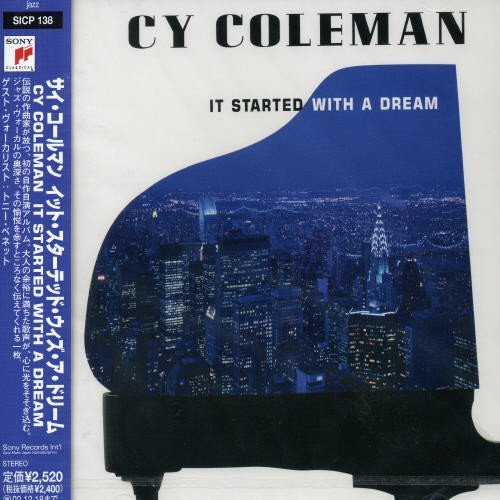 Cy Coleman It Started With A Dream Import Jpn