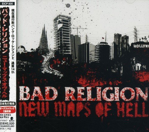 Bad Religion New Maps Of Hell Import Jpn Incl. Bonus Tracks