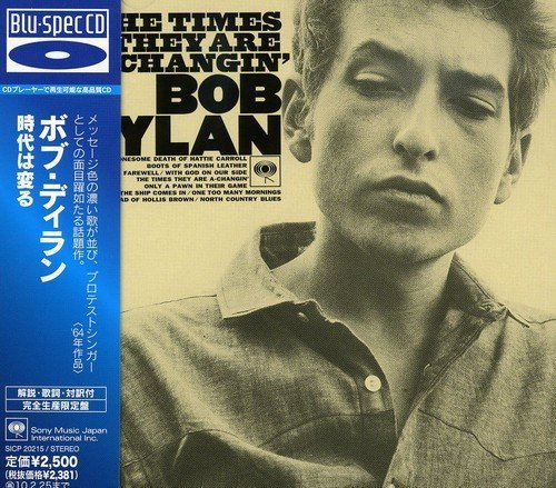 Bob Dylan Times They Are A Changin (blu Import Jpn Blu Spec