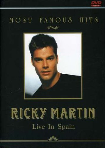 Ricky Martin Most Famous Hits Import Eu Ntsc (0)