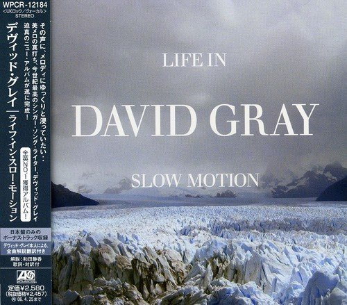 David Gray Life In Slow Motion Import Jpn Incl. Bonus Track