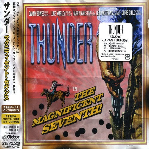 Thunder Magnificent Seventh Import Jpn Incl. Bonus Track