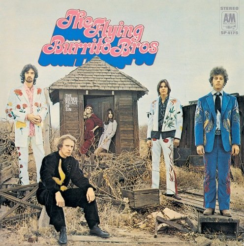 Flying Burrito Brothers Gilded Palace Of Sin Import Jpn