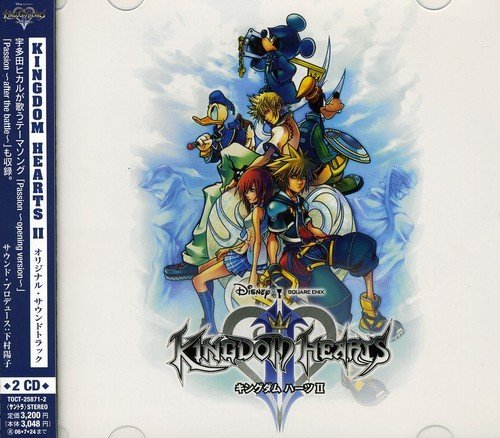 Kingdom Hearts 2 Video Game Soundtrack (mini Lp Import Jpn 2 CD Set Paper Sleeve