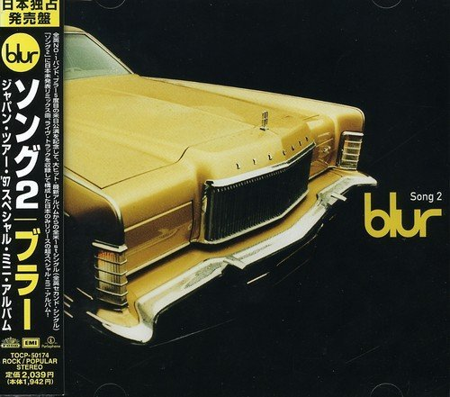 Blur Song 2 Japanese Tour Import Jpn