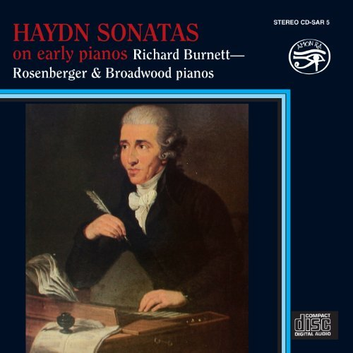 Richard Burnett Sonatas On Early Pianos
