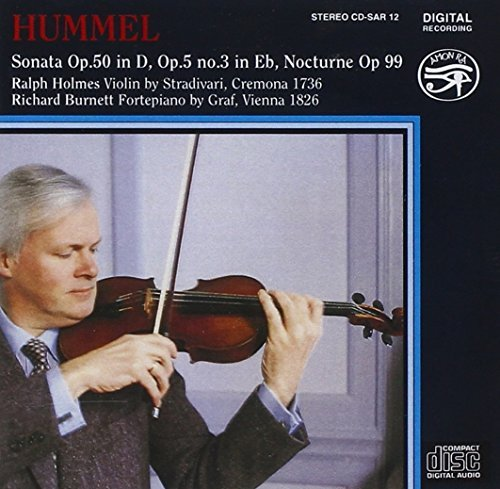 Ralph Holmes Works For Violin & Piano