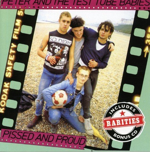Peter & The Test Tube Babies Pissed & Proud Import Gbr 2 CD Set