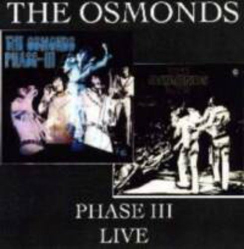 Osmonds Phase 3 Live Import Gbr