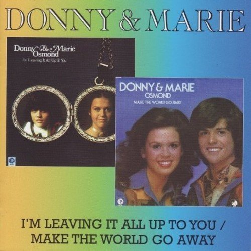 Donny & Marie Osmond I'm Leaving It All Up To You M Import Gbr 2 Lp On 1 CD