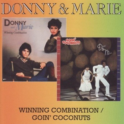 Donny & Marie Osmond Winning Combination Goin' Coco Import Gbr 2 Lp On 1 CD