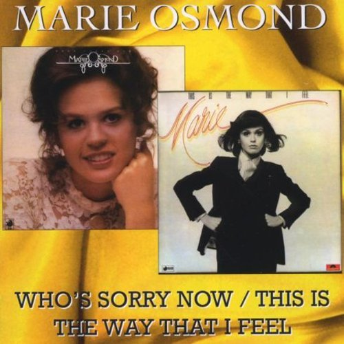 Marie Osmond Who's Sorry Now This Is The Wa Import Gbr 2 Lp On 1 CD
