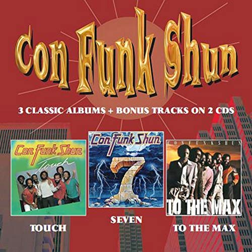 Con Funk Shun Touch Seven To The Max Import Gbr 2 CD