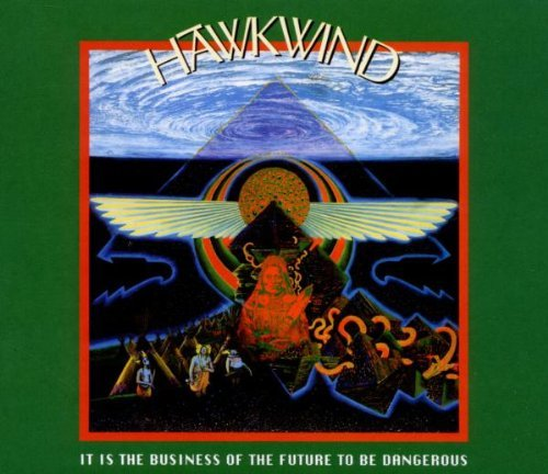 Hawkwind It Is The Business Of The Futu Import Gbr 2 CD