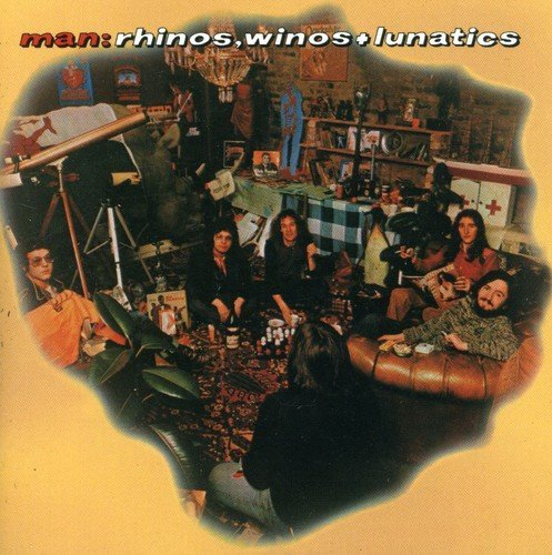 Man Rhinos Winos & Lunatics Import Gbr 2 CD Set