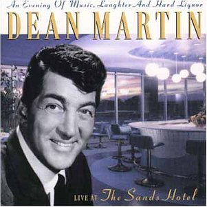 Dean Martin Live At The Sands Hotel Import Gbr