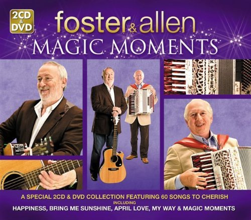 Foster & Allen Magic Moments Import Gbr 2 CD Incl. DVD