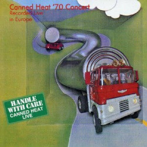 Canned Heat Live Concert 1970 Import Gbr