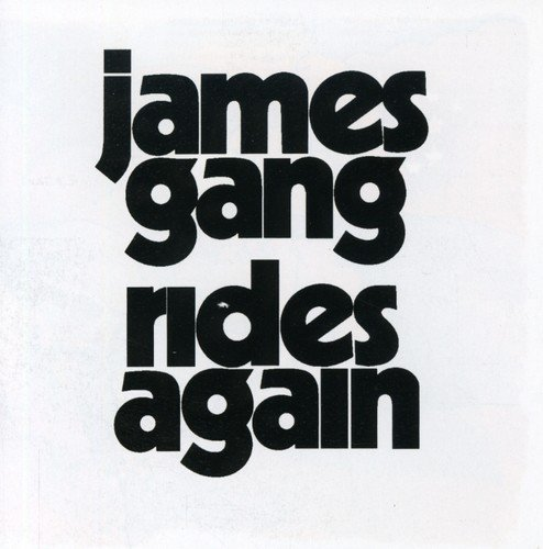 James Gang Rides Again Import Gbr