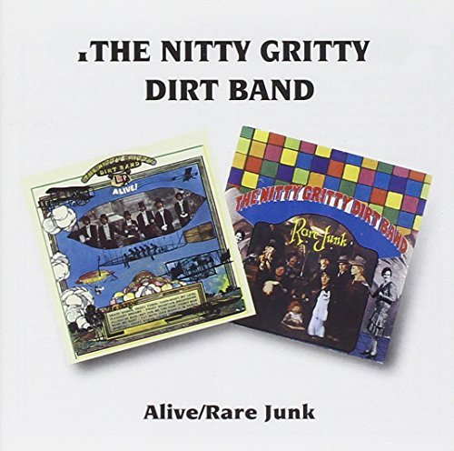 Nitty Gritty Dirt Band Alive Rare Junk Import Gbr 2 On 1