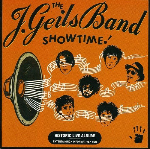 J. Geils Band Showtime Import Gbr