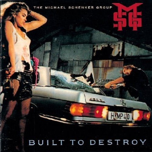 Michael Schenker Group Built To Destroy Import Gbr