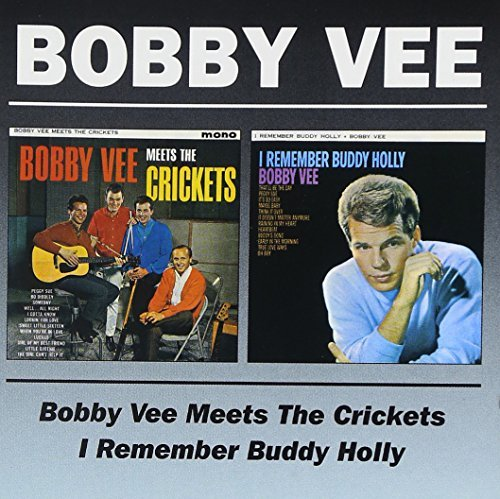 Bobby Vee Meets The Crickets I Rembember Import Gbr 2 On 1