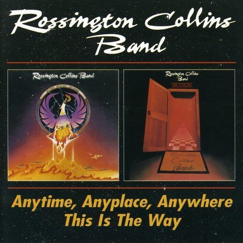 Rossington Collins Band Anytime Anyplace Anywhere This Import Gbr 2 CD