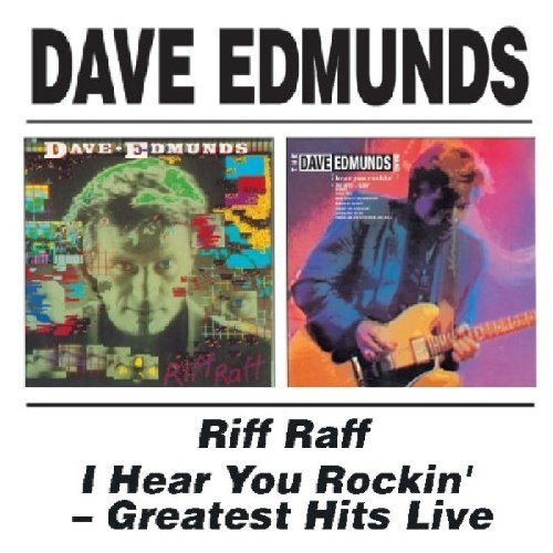 Dave Edmunds Riff Raff I Hear You Rockin' Import Gbr 2 On 1