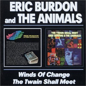 Eric Burdon & The Animals Winds Of Change Twain Shall Me Import Gbr 2 On 1