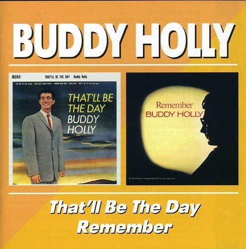 Buddy Holly That'll Be The Day Remember Import Gbr 2 On 1