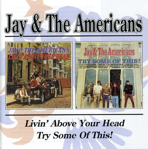 Jay & The Americans Livin' Above Your Head Try Som Import Gbr 2 On 1