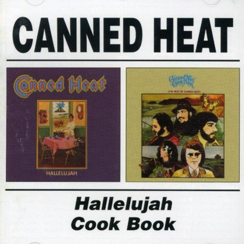 Canned Heat Hallelujah Cook Book Import Gbr 2 On 1