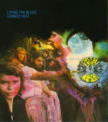 Canned Heat Living The Blues Import Gbr 2 CD