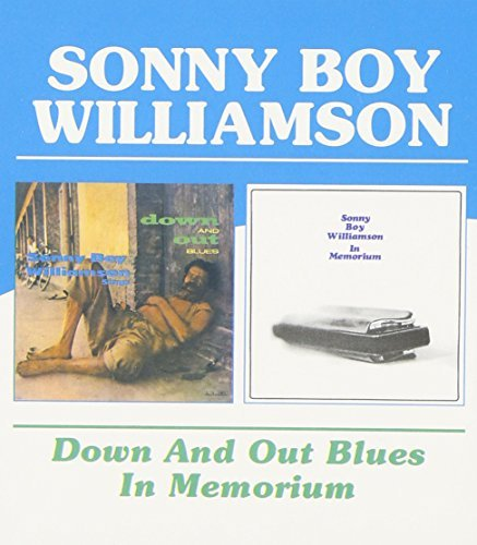 Williamson Sonny Boy Down & Out Blues In Memorium Import Gbr 2 On 1