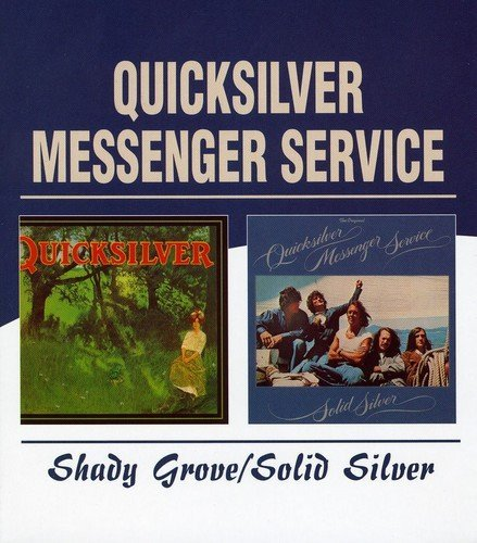 Quicksilver Messenger Service Shady Grove Solid Silver Import Gbr 2 CD