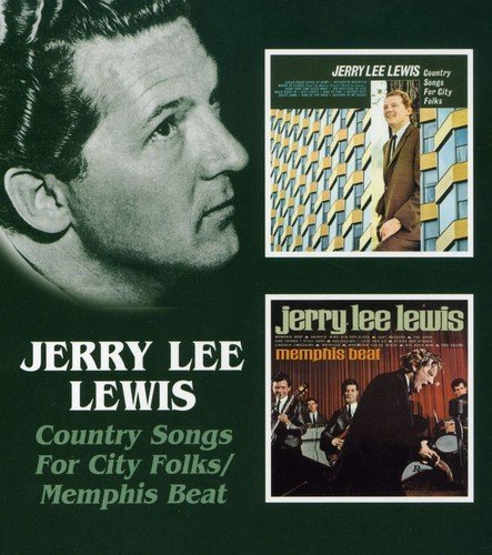 Lewis Jerry Lee Country Songs For City Folk Me Import Gbr 2 On 1 Remastered