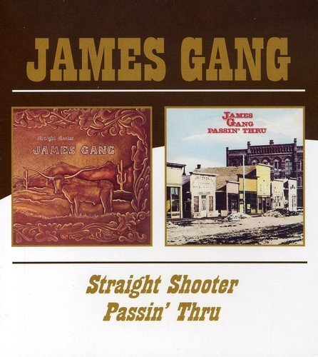 James Gang Straight Shooter Passin' Thru Import Gbr 2 On 1