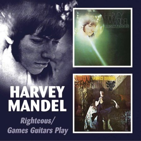 Mandel Harvey Righteous Games Guitar Play Import Gbr 2 On 1