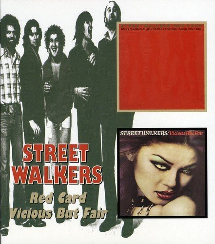 Streetwalkers Red Card Vicious But Fair Import Gbr 2 On 1 Remastered